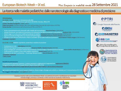 La ricerca nelle malattie pediatriche: dalle nanotecnologie alla diagnostica e medicina di precisione