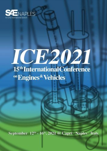15 th International Conference on Engines and Vehicles-ICE2021