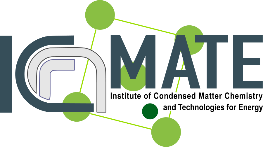 Logo Institute of Condensed Matter Chemistry and Energy Technologies (ICMATE)