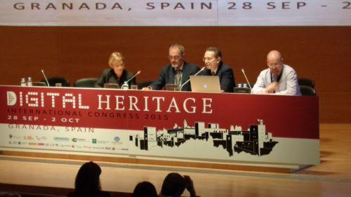 Sessione di apertura della conferenza Digital Heritage 2015