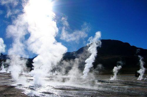 Riserva naturale in Sicilia con fenomeni geotermici