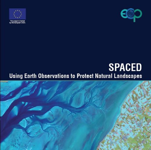 Copertina libro 'Spaced: using earth observation to protect natural landscapes'