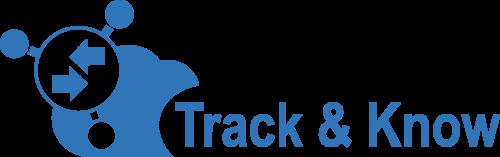 Logo del progetto europeo Track & Know