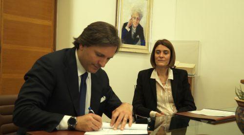 La firma di Fabio Miraglia, responsabile di C.H.I.C.O, e di Cristina Battaglia, responsabile Cnr-Uvr