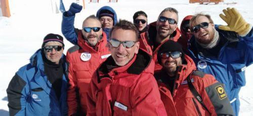 Staff impegnato nella XXXVI spedizione del Programma nazionale di ricerca in Antartide
