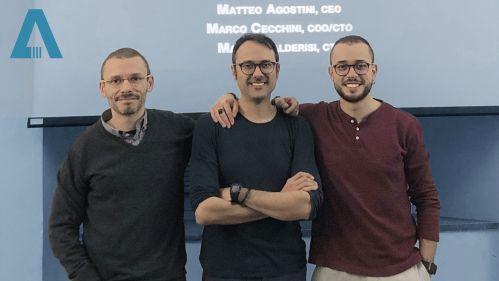 Il team di INTA System: Marco Cecchini, Marco Calderisi, Matteo Agostini