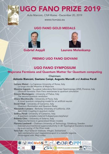Premio Ugo Fano 2019