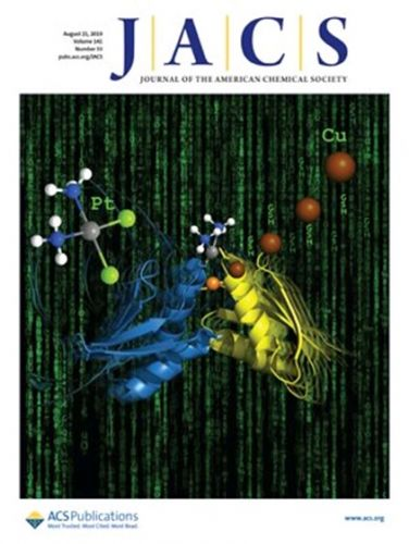 Cover del Journal of the American Chemical Society