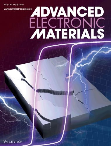 Copertina di Advanced Electronic Materials