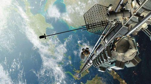 Simulazione di ascensore spaziale