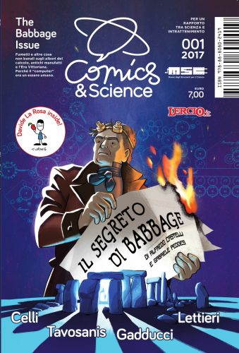 Copertina di Comics&Science 'The Babbage Issue'