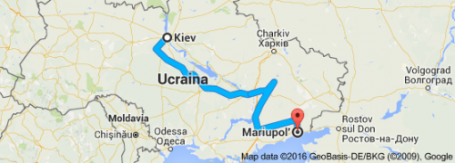 from Kiev to Mariupol