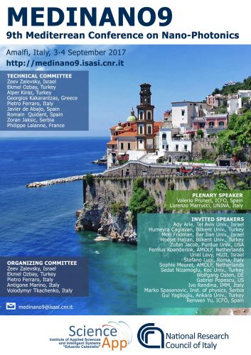 9th Mediterranean Conference on Nano-Photonics
