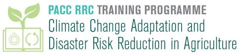 Training programme on climate change adaptation and disaster risk reduction in agriculture (Pacc-Rcc)