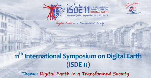 11th International symposium on digital earth (Isde 11). 'Digital Earth in a transformed society'