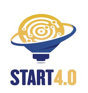 Il logo dell'associazione Centro di Competenza per la sicurezza e l'ottimizzazione delle infrastrutture strategiche Start 4.0