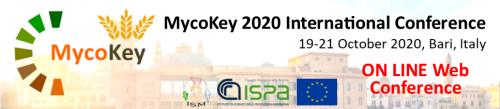 MycoKey 2020 Final International Conference on-line 19-21 October 2020
