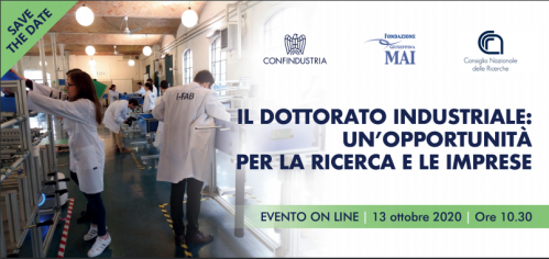 Save the date dell'evento