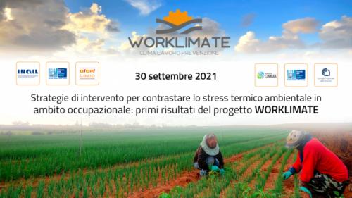 Evento Worklimate 30 settembre 2021 ore 9:00