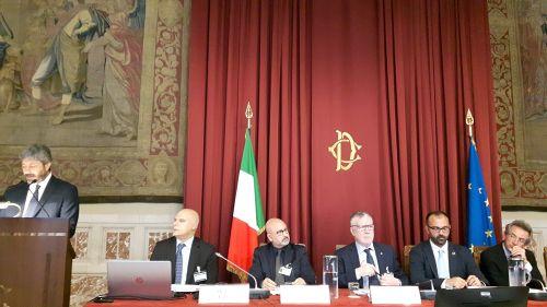 Il presidente Inguscio alla presentazione di 'Il patto per la ricerca'
