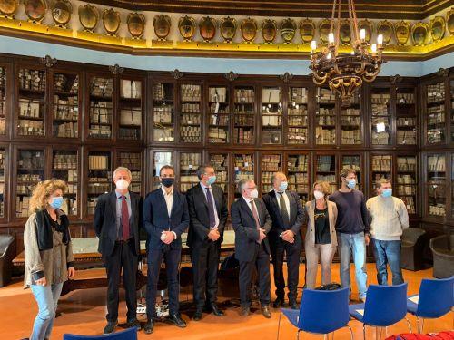 La cerimonia di discussione della tesi di Gevorg Yeghikyan, primo dottore di ricerca italiano in