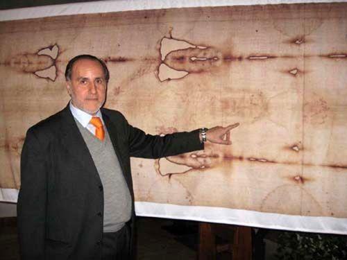 Giulio Fanti, Università di Padova, e la Sindone