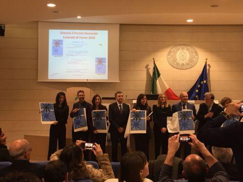 Vincitori del premio XI° Tavolo nazionale dei Contratti di Fiume