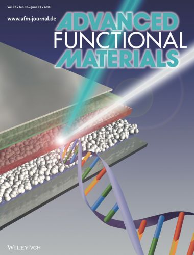 Copertina Advanced Functional Materials volume 28 del 27 Giugno 2018