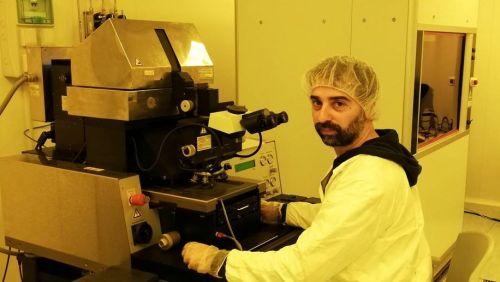 Alessandro Polini, ricercatore presso il Cnr-Nanotec di Lecce, vincitore del Lush Prize 2018 categoria