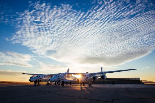 Lo SpaceShipTwo di Virgin Galactic