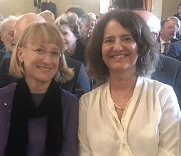 Michela Matteoli (a destra) e Elena Conti (a sinistra)