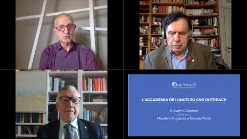 Giovanni Caprara intervista Massimo Inguscio e Giorgio Parisi