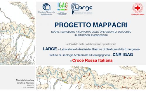 Progetto di mappatura dei potenziali scenari di rischio tra la Croce rossa italiana e il Laboratorio di analisi dei rischi e di gestione delle emergenze (Large) del Cnr-Igag di Milano