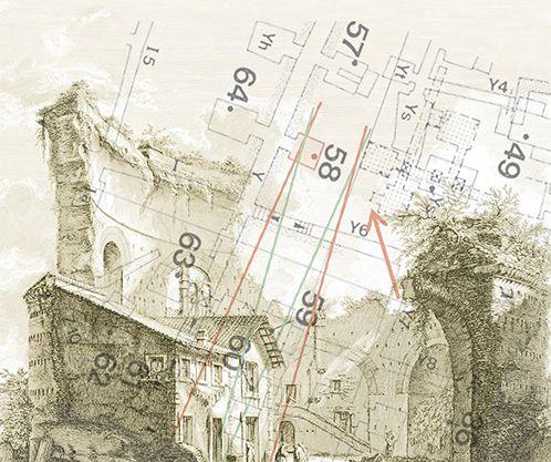 Localizzazione geometrica della Tomba di S. Pietro nell'area cimiteriale