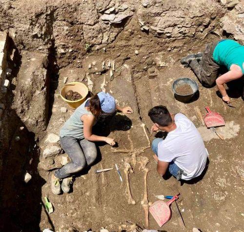Scavi archeologici nella Chiesa di San Sisto a Pisa