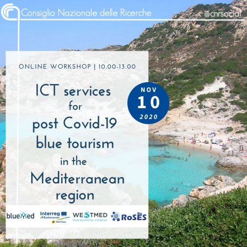 ICT services for post Covid-19 blue tourism in the Mediterranean region