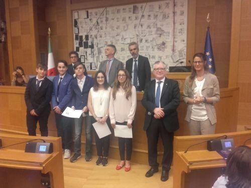 Inguscio premia IC Media Lido del Faro, Fiumicino