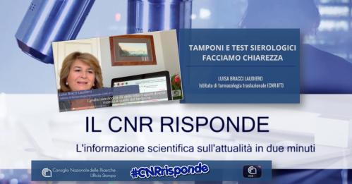 Il Cnr risponde. L'informazione scientifica sull'attualità in due minuti