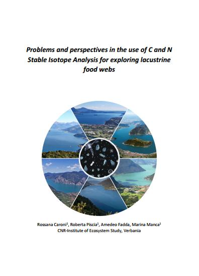 "Cover book ""Problems and perspectives in the use of C and N Stable Isotope Analysis for exploring lacustrine food webs"""