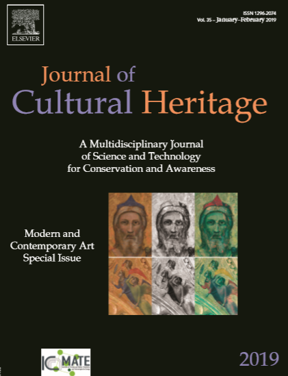 cover journal of cultural heritage
