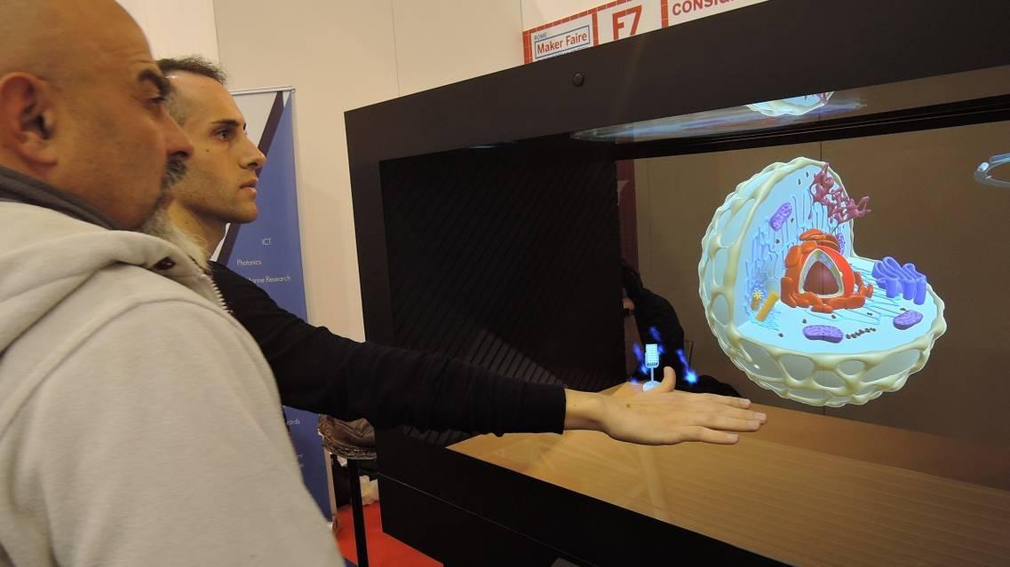 Il prototipo Icar-Cnr è un primo esempio di integrazione tra visualizzazione olografica interattiva e intelligenza artificiale