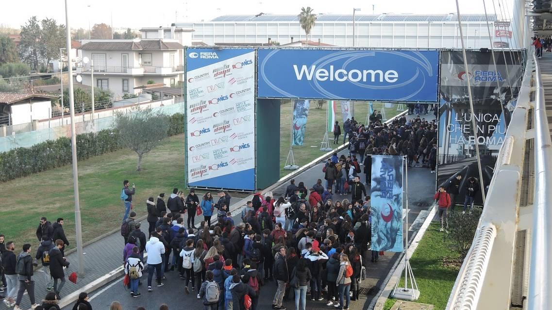 Tra gli oltre 120.000 visitatori dell'edizione 2017 moltissimi giovani e studenti