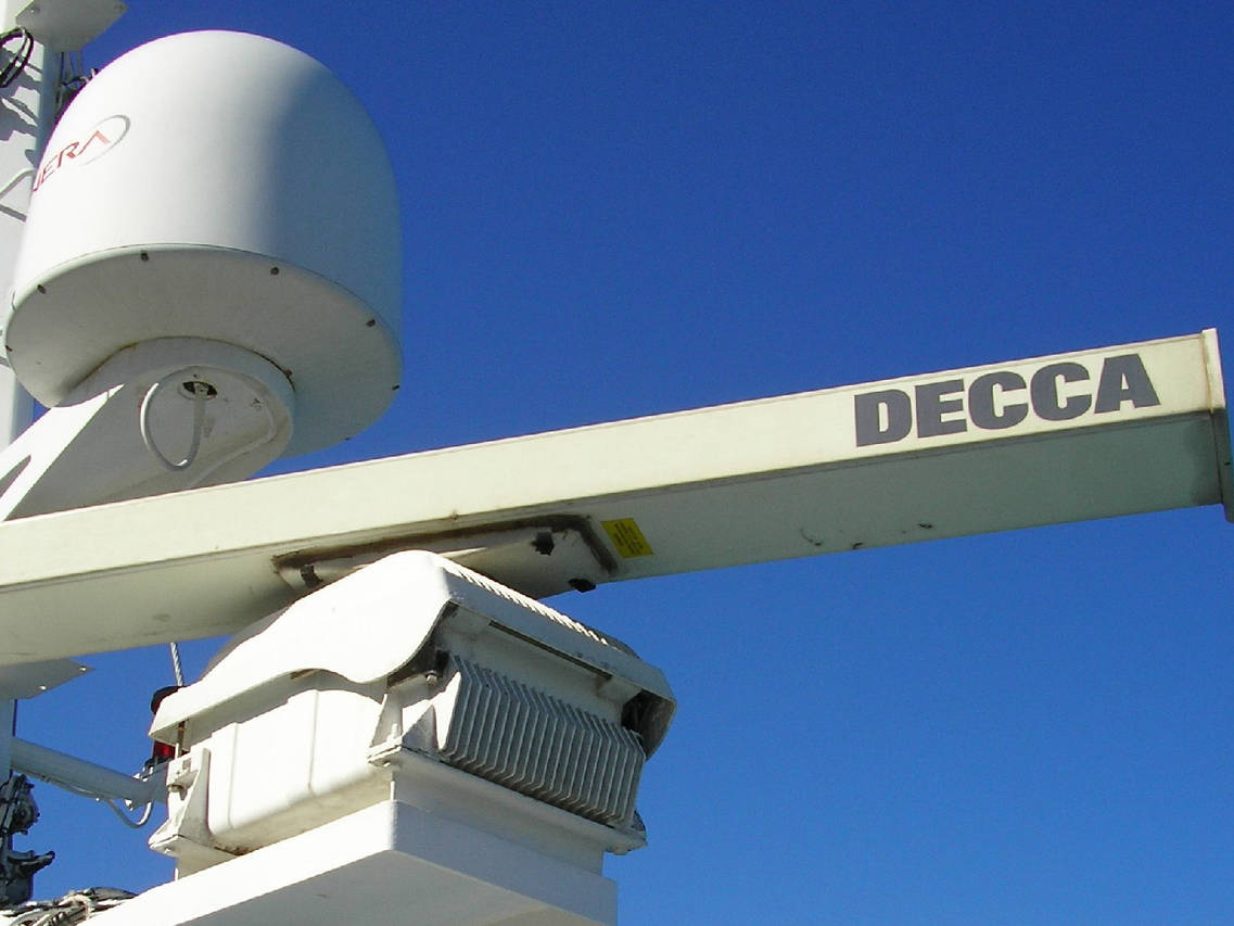 Radar JRC RASTER SCAN RADAR e Radar DECCA BRIDGEMASTER