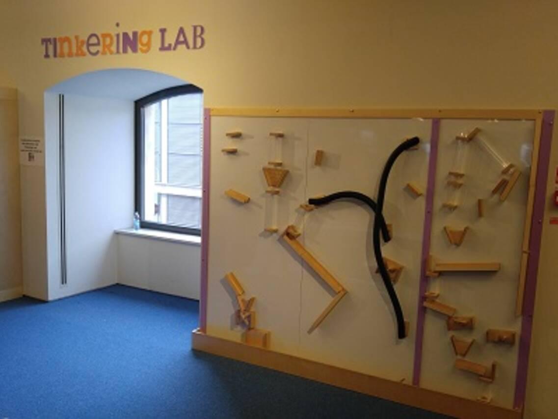 L'area 'Tinkering Lab'