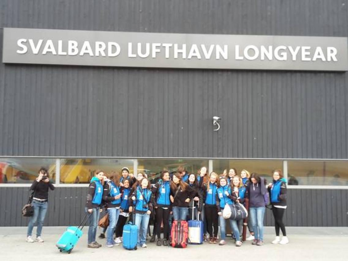 21.07.2016 - L'arrivo: il progetto Reset sbarca alle Svalbard