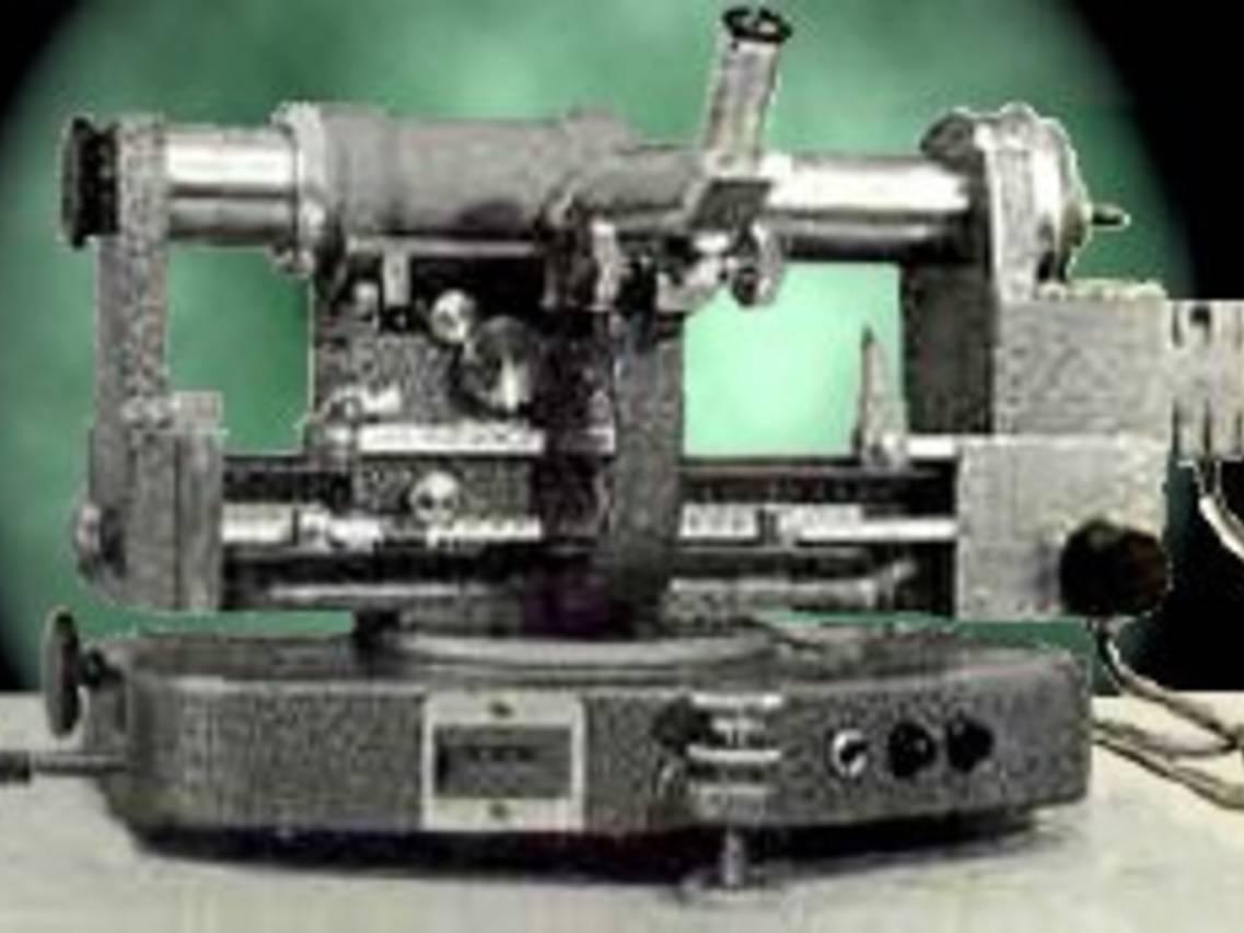 Goniometro di Weissenberg per diffrattogrammi da cristallo singolo
